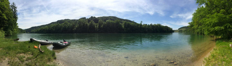 Panorama Rhein